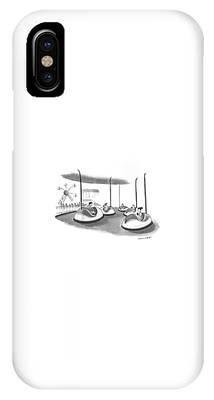 On Bumper Cars IPhone Case