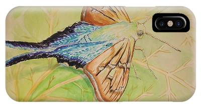 One Day In A Long-tailed Skipper Moth's Life IPhone Case