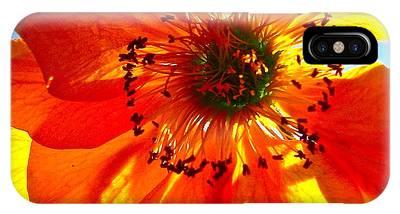 Orange Burst IPhone Case