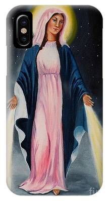 Our Lady Of Grace II IPhone Case