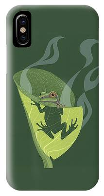 Frogs iPhone Cases