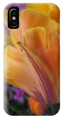 Painted Tulip IPhone Case