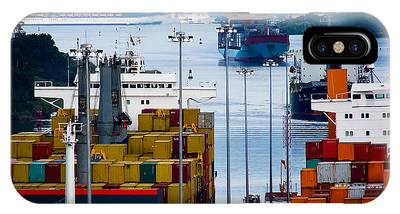 Panama Canal Express IPhone Case