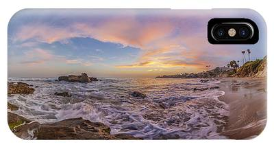 Panorama The Whole Way Round The Cove IPhone Case