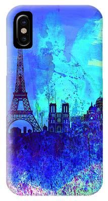 Paris Skyline Phone Cases
