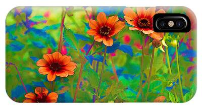 IPhone Case featuring the photograph Pastel Flowers by Dennis Dame