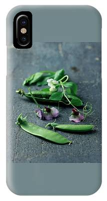 Pea Pods And Flowers IPhone Case