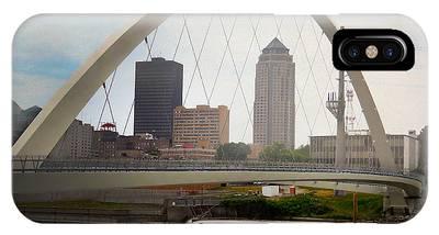 Pedestrian Bridge IPhone Case