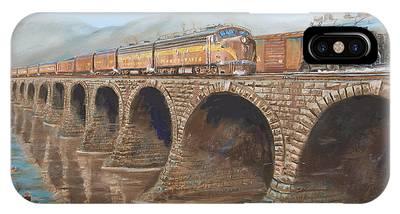 Steam Locomotive Phone Cases