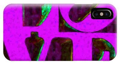 Philadelphia Love - Painterly V2 IPhone Case