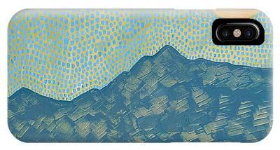 Picuris Mountains Original Painting IPhone Case