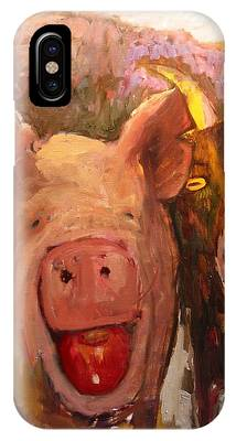 Pig And Goat IPhone Case