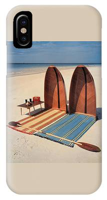 Pixie Collapsible Boat On The Beach IPhone Case