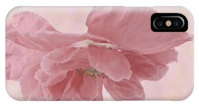 Suspended Pink Poppy Flower Phone Cases