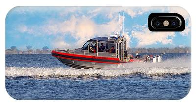 Protecting Our Waters - Coast Guard IPhone Case