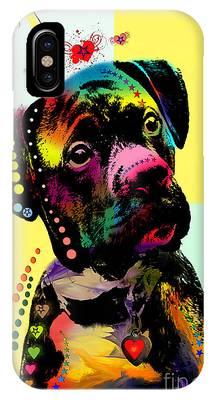 Dog Digital Art Phone Cases
