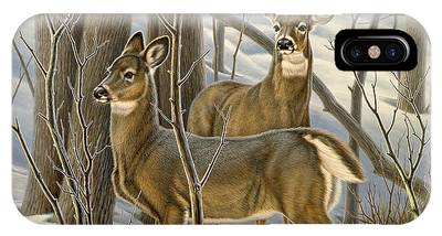 Whitetail Deer Phone Cases