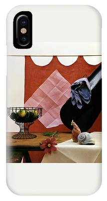 Red Curtains IPhone Case