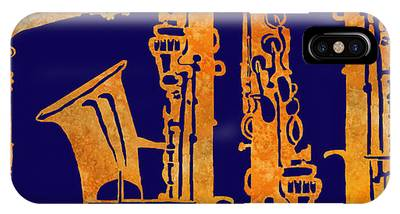 Saxophone iPhone X / XS Cases
