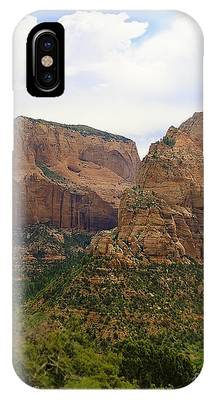 IPhone Case featuring the photograph Red Mountains by Richard J Thompson