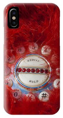 Red Phone For Emergencies IPhone Case