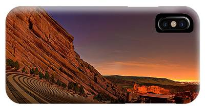 Red Rock iPhone X Cases