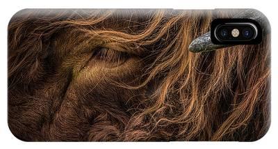 Animal Hair Phone Cases