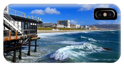Redondo Pier - Mike Hope IPhone Case