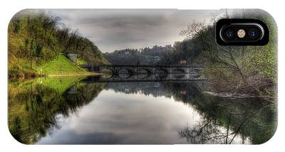 Reflections On Adda River IPhone Case