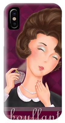 Retro Hairdos-bouffant IPhone Case