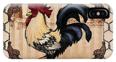 Rooster II IPhone Case