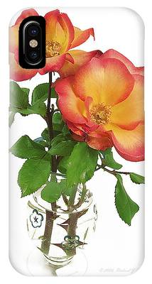 IPhone Case featuring the photograph Rose 'playboy' by Richard J Thompson