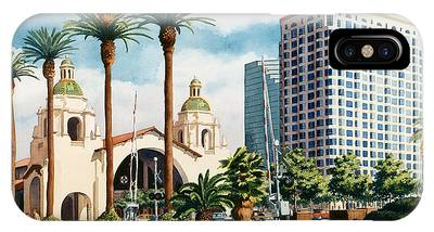 Missions San Diego Phone Cases
