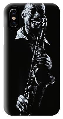Monotone Drawings iPhone Cases