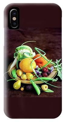 Seasonal Fruit And Vegetables IPhone Case