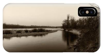 Sepia River IPhone Case
