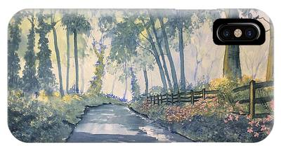 Shadows On The Setterington Road IPhone Case