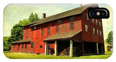 Shaker Village Barn IPhone Case