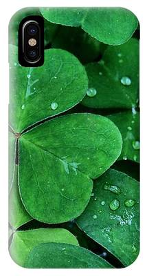 Shamrock Green IPhone Case by Patricia Strand