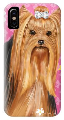 Show Dog Yorkshire Terrier IPhone Case