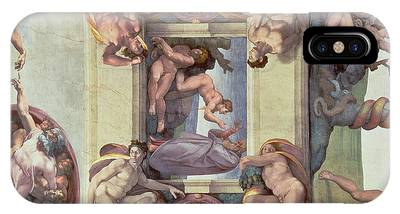 The Creation Of Adam Phone Cases