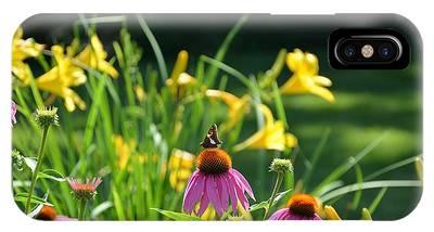 Skipper In The Flowers IPhone Case