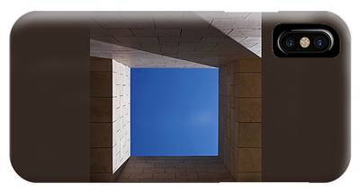 IPhone Case featuring the photograph Sky Box At The Getty 2 by Rona Black
