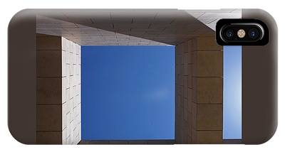 IPhone Case featuring the photograph Sky Box At The Getty  by Rona Black