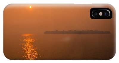 Smoky Sunrise Phone Case by Dan Vidal