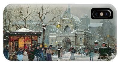 Eugene Galien-laloue iPhone Cases