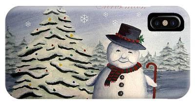 Snowman's Christmas IPhone Case