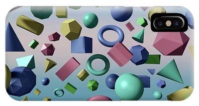 Platonic Solids Phone Cases