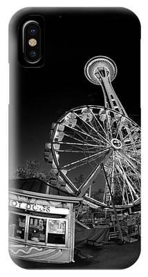Space Needle Fights The End Of The World IPhone Case