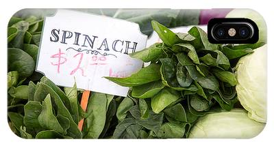 Spinach Phone Cases